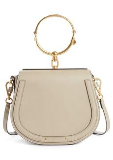 Chloé Medium Nile Leather Bracelet Saddle Bag