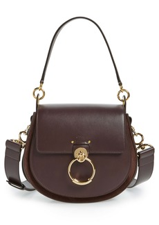 Chloé Medium Tess Calfskin Leather Shoulder Bag