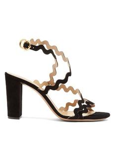 Chloé Melrose block-heel suede sandals