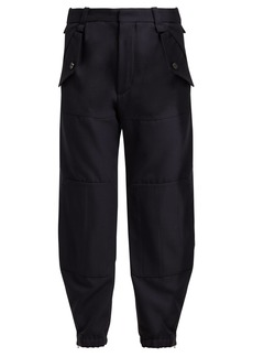 Chloé Mid-rise cargo trousers