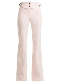 Chloé Mid-rise flared jeans