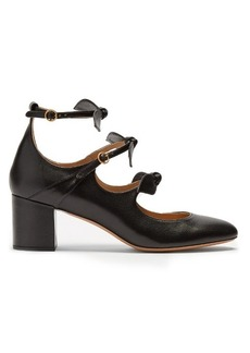 Chloé Mike leather pumps