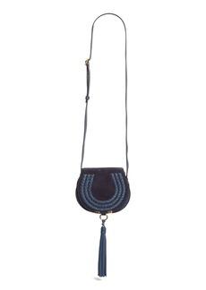 Chloé 'Mini Marcie' Suede Saddle Bag