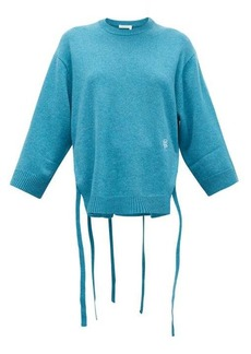 Chloé Iconic monogram-embroidered cashmere sweater