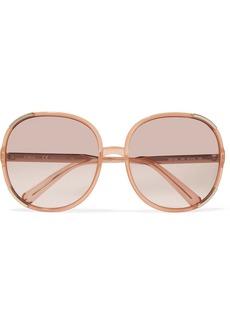 Chloé Myrte square-frame acetate sunglasses