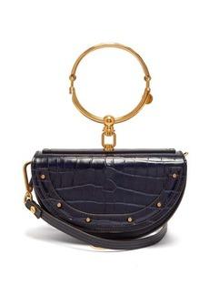 Chloé Nile leather minaudière clutch bag