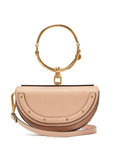 Chloé Nile Minaudiere leather bag