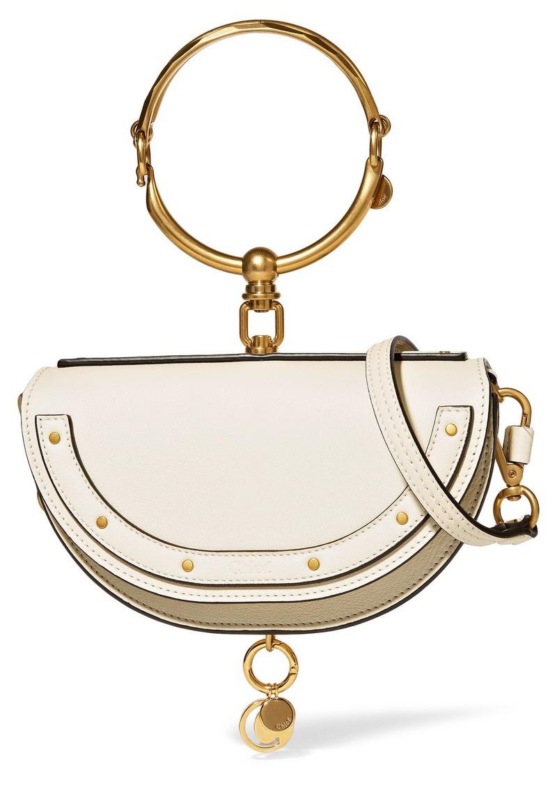fd31914c91 Chloé Chloé Nile Bracelet mini textured-leather shoulder bag