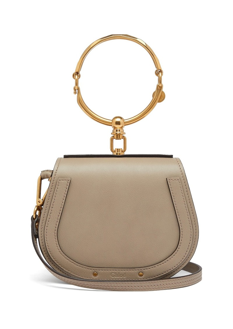 79ee8ca75c34 Chloé Chloé Nile small leather and suede cross-body bag