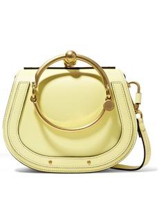 Chloé Nile Bracelet small leather and suede shoulder bag