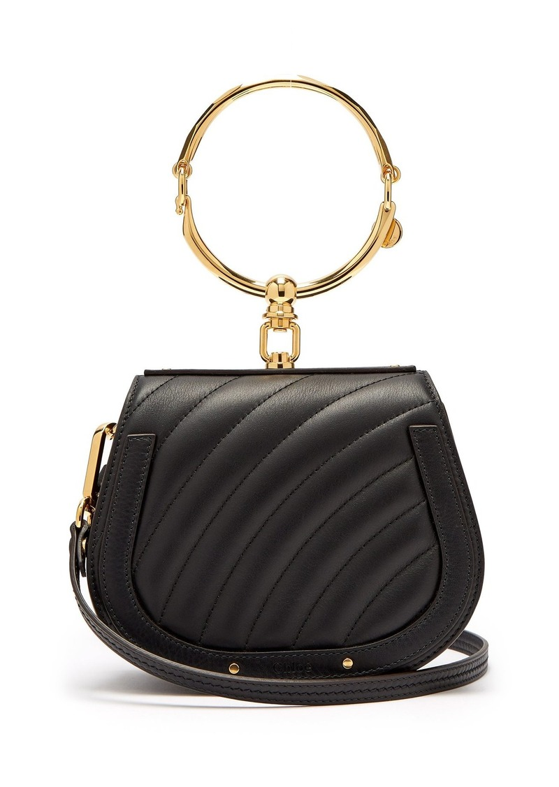 d0571f24fbb Chloé Chloé Nile small quilted-leather cross-body bag