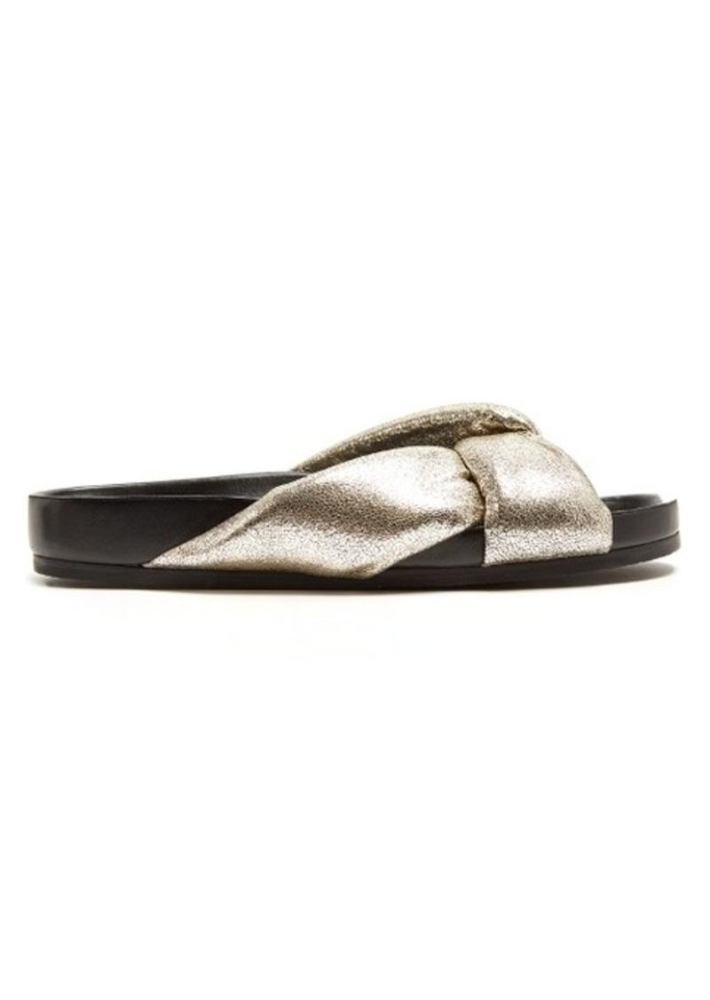 Chloé Nolan leather slides