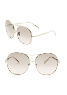 Nolla 61MM Oversize Square Aviator Sunglasses