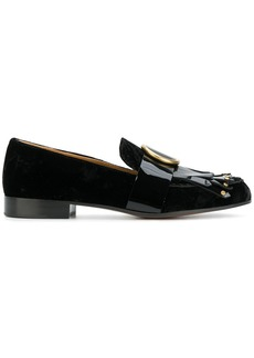 Chloé Olly fringed loafers - Black
