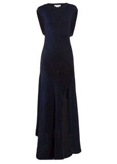 Chloé Open-back knitted midi dress