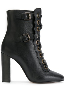 Chloé Orson high heeled booties - Black