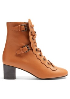 Chloé Orson lace-up ankle boots