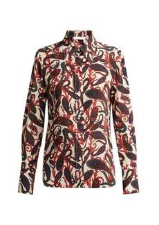 Chloé Paisley-print silk blouse