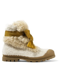 Chloé Parker shearling ankle boots