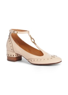 Chloé Perry Wingtip T-Strap Pump (Women)