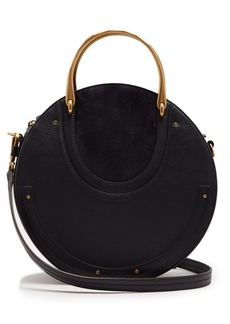 Chloé Pixie leather and suede cross-body bag