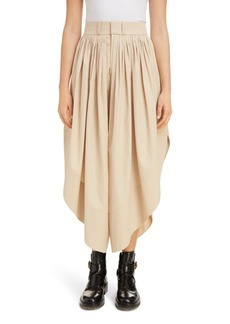 Chloé Pleated Cotton Culottes