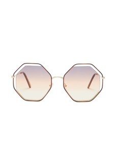 Chloé Poppy octagon-frame sunglasses