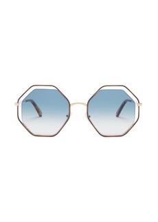 Chloé Poppy octagonal-framed sunglasses
