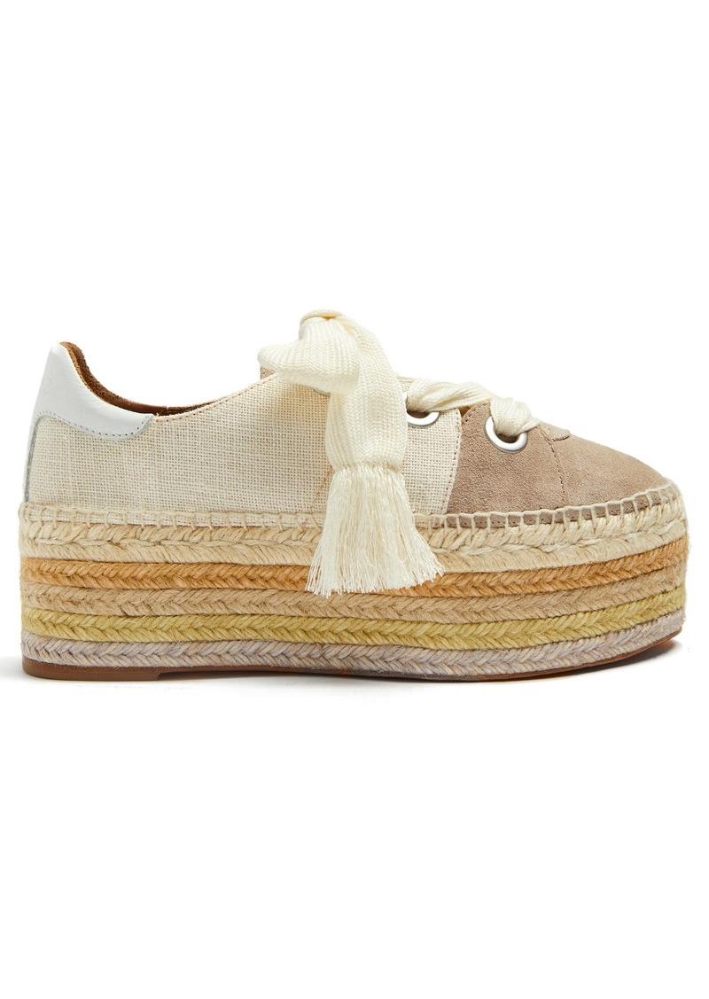 77f34867a Chloé Chloé Qai lace-up platform espadrilles | Shoes