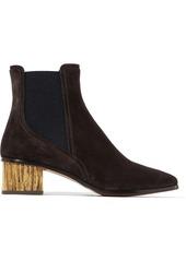 Chloé Qassie suede Chelsea boots