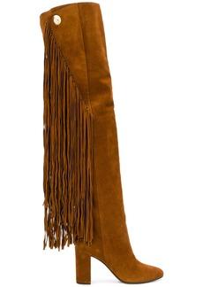 Chloé Quaisha fringed boots - Brown