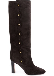 Chloé Quaylee over-the-knee boots - Grey
