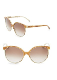 Chloé Quilly Contemporary Layered Sunglasses