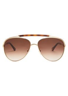 Chloé Reece aviator-frame sunglasses