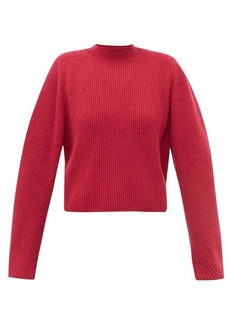 Chloé Ribbed-knit wool-blend sweater