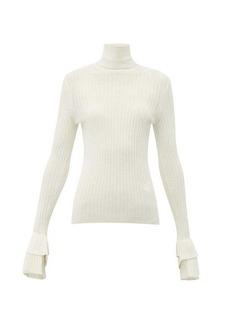 Chloé Roll-neck merino-wool sweater