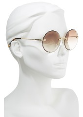 69bc897ff1d9 Chloé Rosie 60mm Scalloped Rimless Sunglasses Chloé Rosie 60mm Scalloped  Rimless Sunglasses