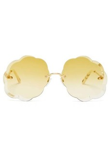 Chloé Rosie cloud metal sunglasses