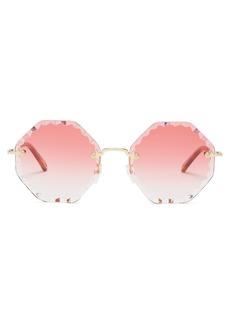 Chloé Rosie octagon-frame sunglasses