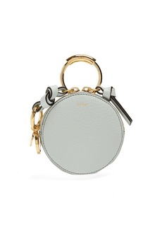 Chloé Round-mini leather coin purse