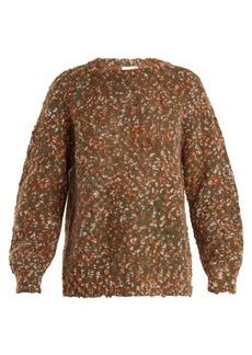 Chloé Round-neck bouclé sweater