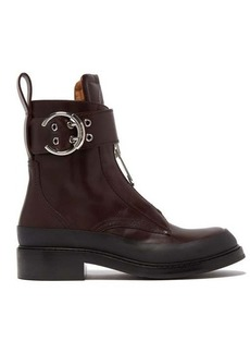 Chloé Roy buckled leather boots