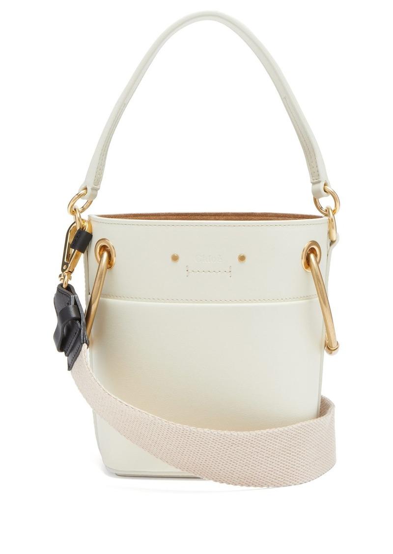 Chloé Chloé Roy mini leather bucket bag  d213dac63e813