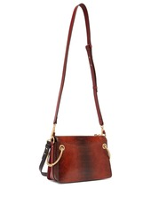 f42738f0e02de Chloé Chloé Roy small snake-effect leather shoulder bag