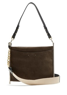 Chloé Roy suede and leather cross-body bag