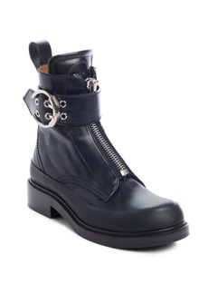 Chloé Roy Zip Front Combat Boot (Women)