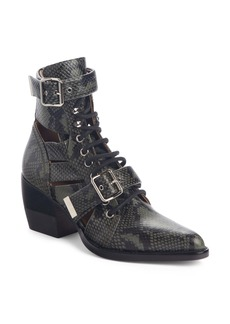 Chloé Rylee Caged Pointy Toe Boot (Women)
