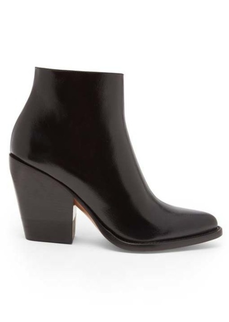 Chloé Rylee leather boots