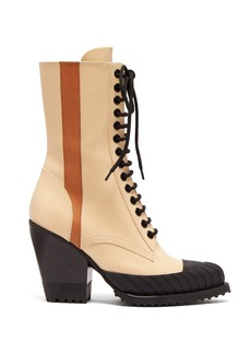 Chloé Rylee lace-up leather boots