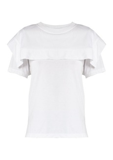 Chloé Sailor-collar cotton-jersey T-shirt